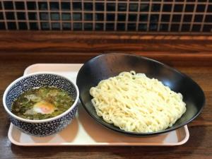 (夏期限定)元祖!つけ麦【麦切りつけ麺】780円(税込み)